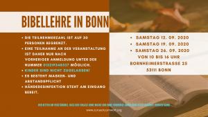 BIBELLEHRE IN BONN